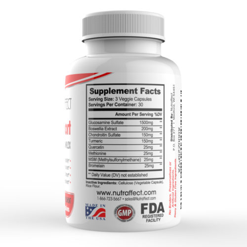 Joint Support Nutrition Supplement Facts